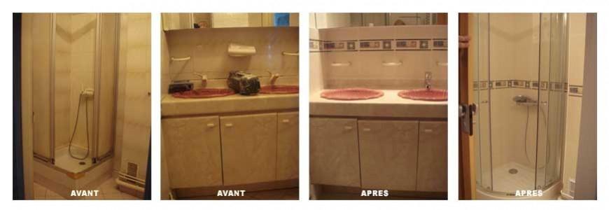 Renovation salle de bain paris 15
