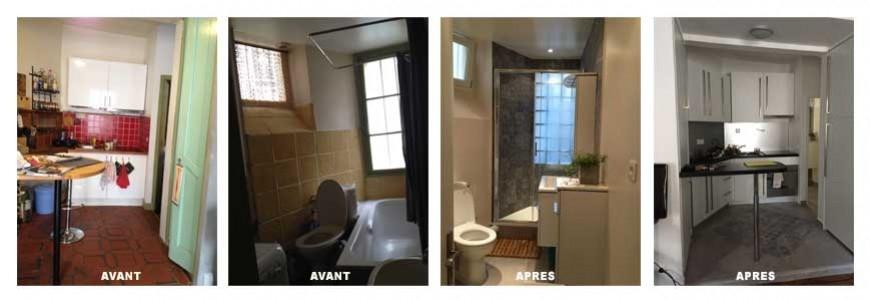 Rénovation d'une salle de bain paris 18