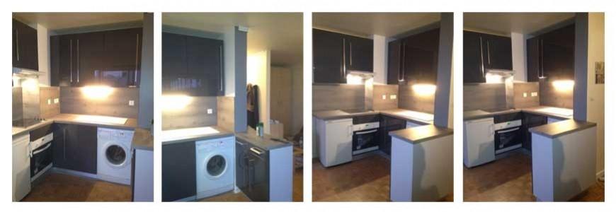 Renovation d'une cuisine paris 15