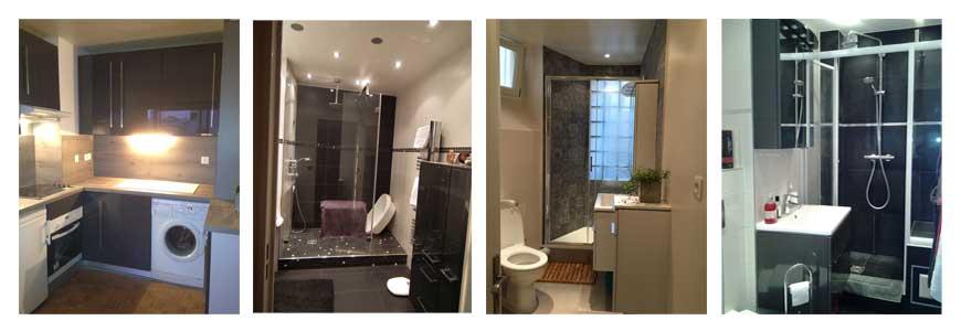 Restauration de salle de bain et de cuisines