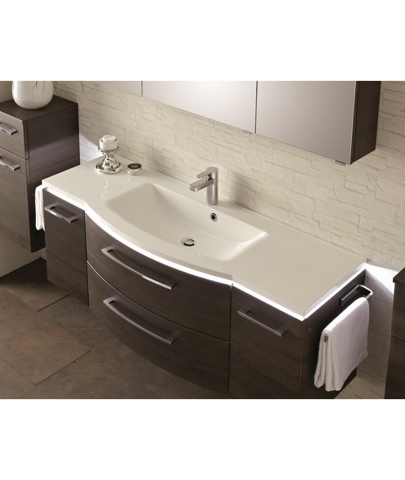 Meubles suspendus azur lign mod le lunic abc for Modele meuble salle de bain