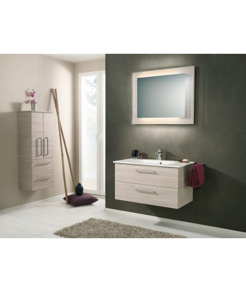 Meubles suspendus azur lign mod le sonic abc - Meuble de salle de bain paris ...