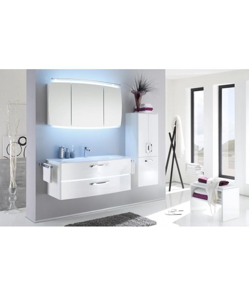 Meubles suspendus azur lign mod le tiva abc - Modele salle de bain contemporaine ...