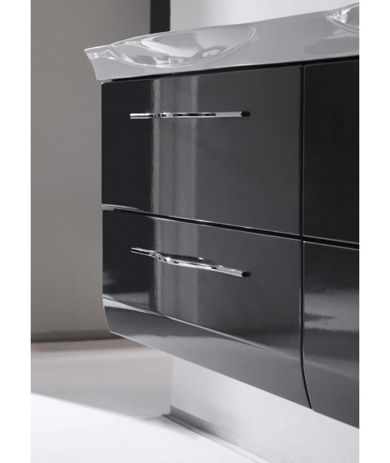 Meubles suspendus azur lign mod le vialo abc for Modele salle de bain contemporaine