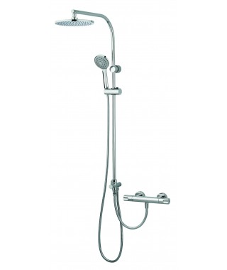 Mitigeur douche thermostatique Tender avec colonne externe