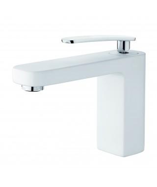 Mitigeur lavabo blanc GRB Grober