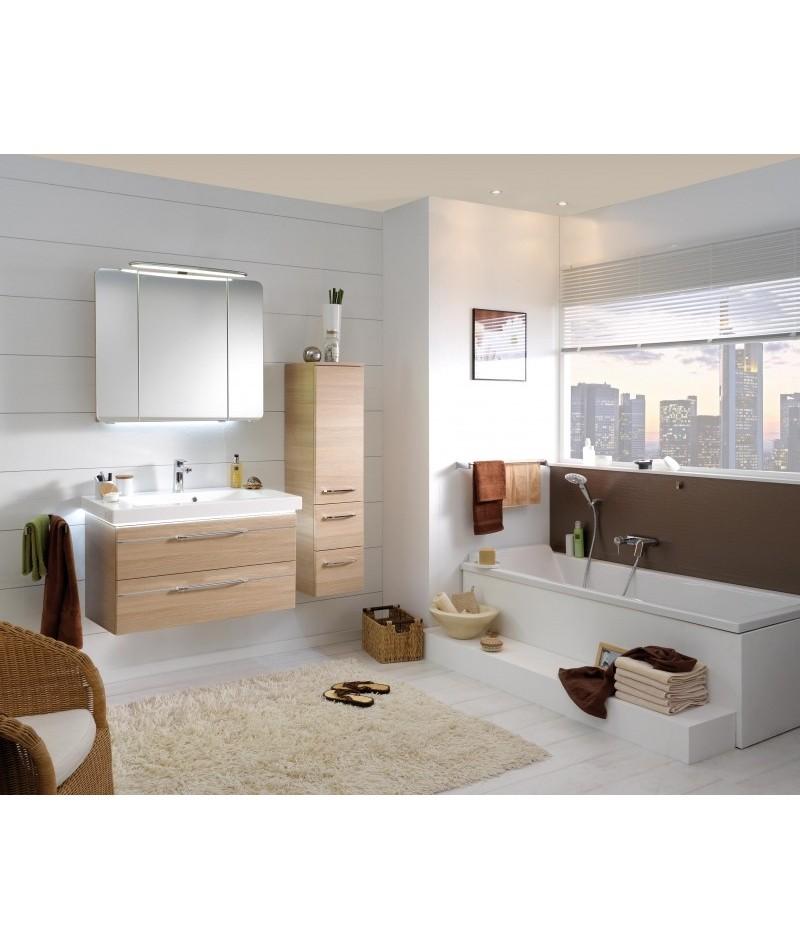 Meubles suspendus azur lign mod le balto abc - Modele meuble salle de bain ...
