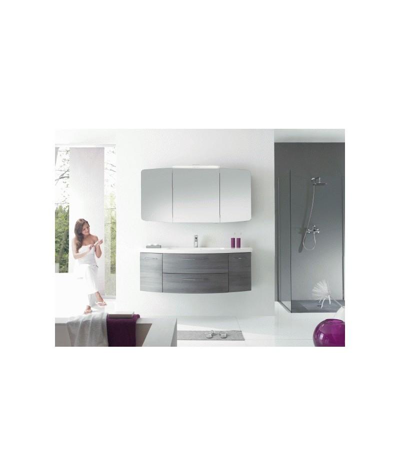 Meubles suspendus azur lign mod le cassca abc for Modele meuble salle de bain