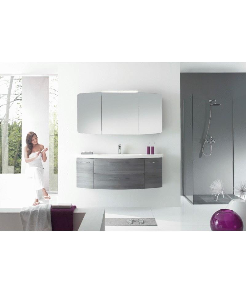 Meubles suspendus azur lign mod le cassca abc - Modele salle de bain contemporaine ...