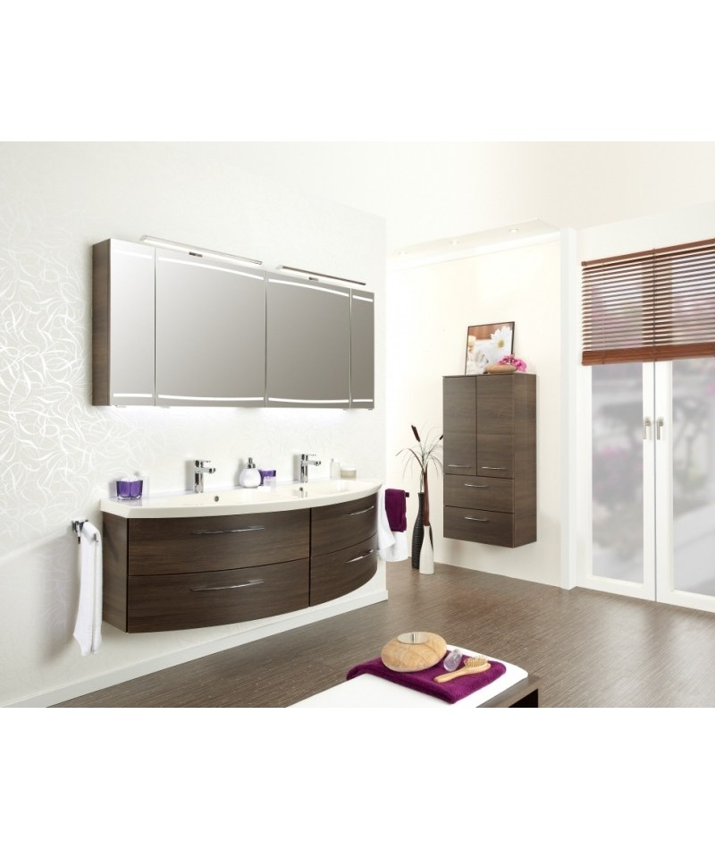 Meubles suspendus azur lign mod le cassca abc - Vente privee mobilier salle de bain ...