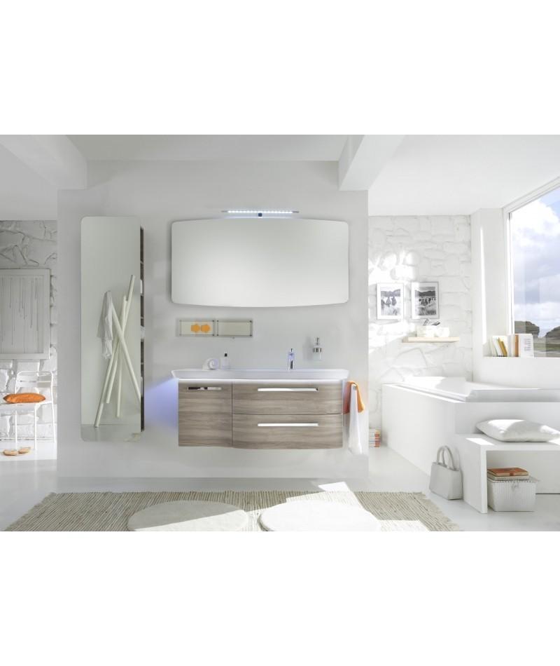 Meubles suspendus azur lign mod le contea abc - Modele meuble salle de bain ...